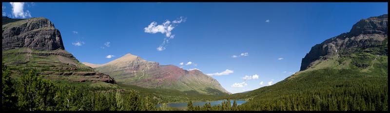 East side of Glacier National Park