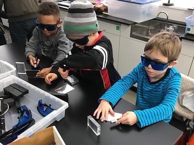 ELC-K Students Visit Science Room!