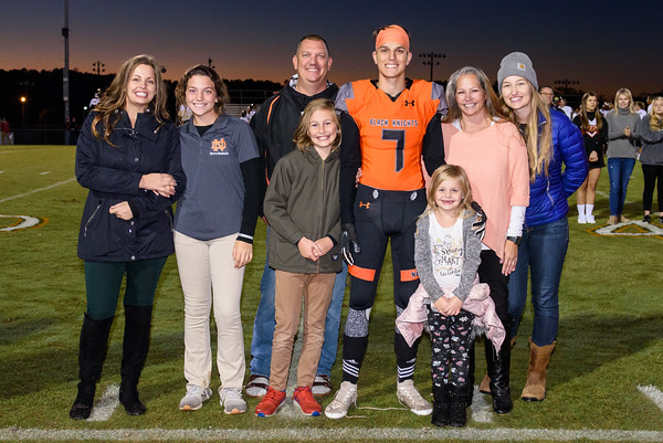 NDHS Fall Sports Senior Night 2019