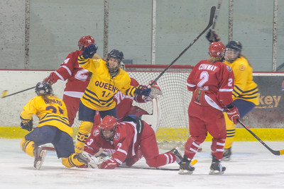 Women's Hockey - Queen's at York 20150117