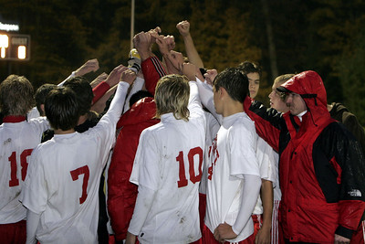 Boys Varsity Soccer - 10/21/2006 District Championship vs. Spring Lake