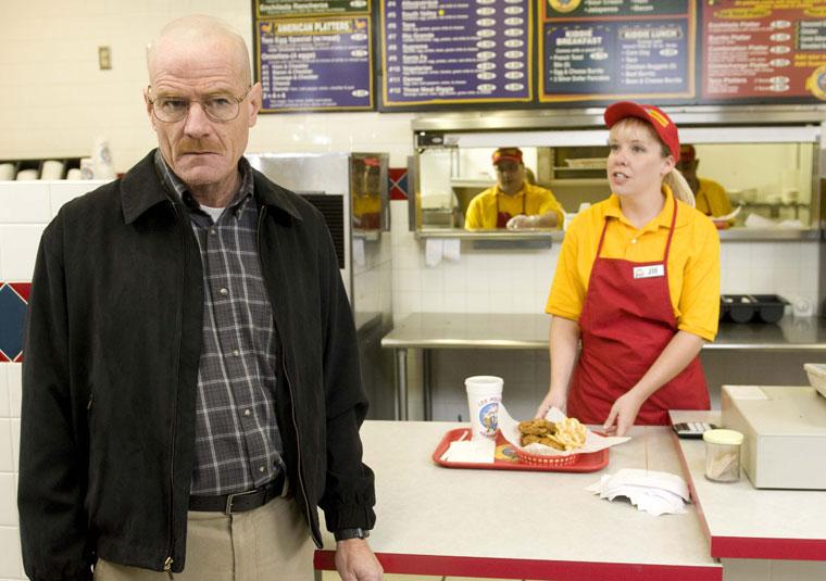 . <p>17. LOS POLLOS HERMANOS <p>Their secret recipe kicks the living hell out of KFC.
