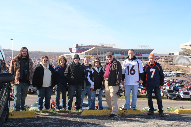 . The Peacocks and Sabans in Kansas City to watch the Broncos