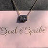 'For You I Live' 18kt Rose Gold Cast Rebus Pendant, by Seal & Scribe 5