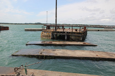 Whats left of Pier 50 when Flying Boats used to moor