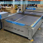 SKU: R2-2030V/90L, EasyRoute Heavy Duty CNC Router 2000×3000 Vacuum Table, Servo with 9kW ATC Spindle