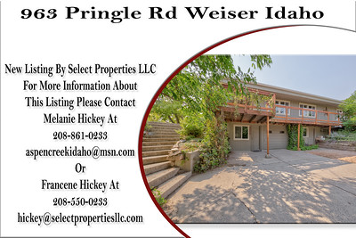 963 Pringle Rd Weiser Idaho- Melanie Hickey
