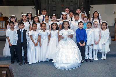 First Communion  4-28-2018