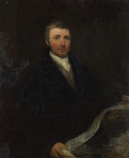 Portrait of a Man aged about 45