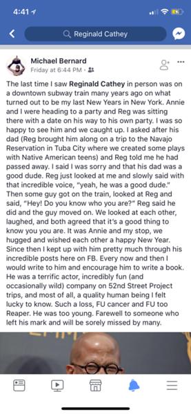 Reg E Cathey Social Media Tributes Vol. 2