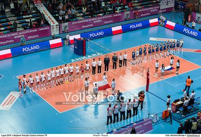 04.01.16 • Poland - Russia | Pool B #RoadToRio #Women