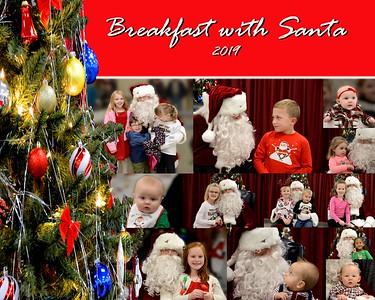 Breakfast with Santa - 2019