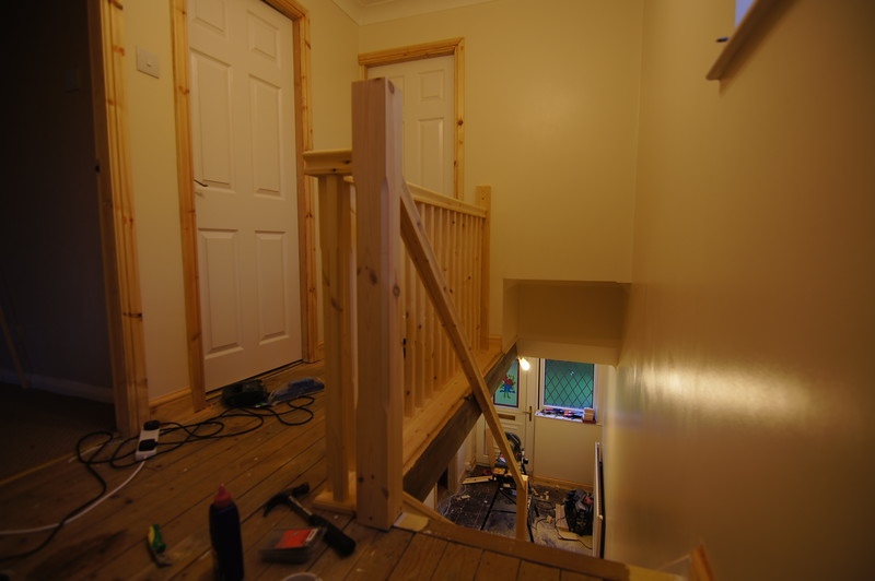 Staircase nearly finished