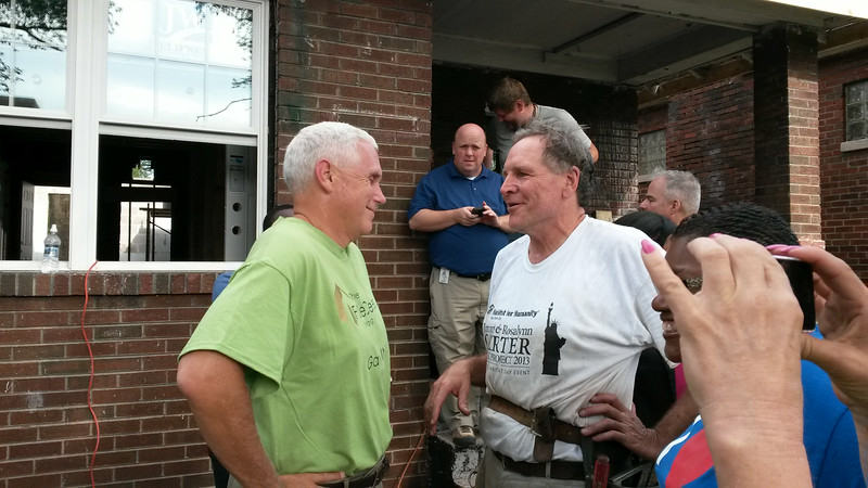 Indiana Gov. Mike Pence, Steve Lumpp