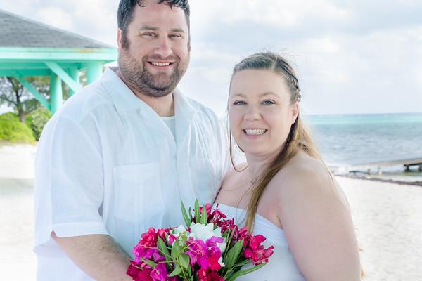 3-Cayman Erin and Cory Wedding Photos