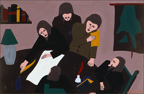 "Jacob Lawrence, ""The Life of Toussaint L'Ouverture No. 11"" (1938)"
