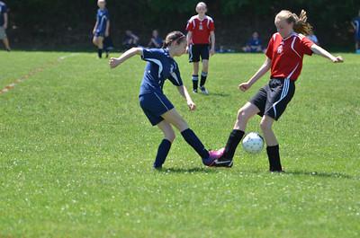 2013.06.01 U12 Girls vs Brookline