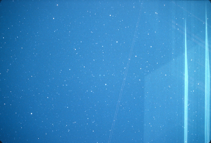 2101 CST 200mm F3.5 Comet Halley, Platte City, MO,  December 8, 1985