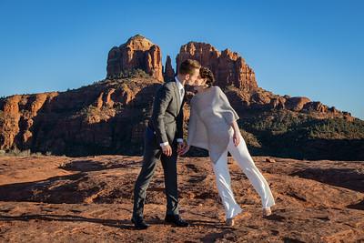 Anna & Paul's Sedona Wedding