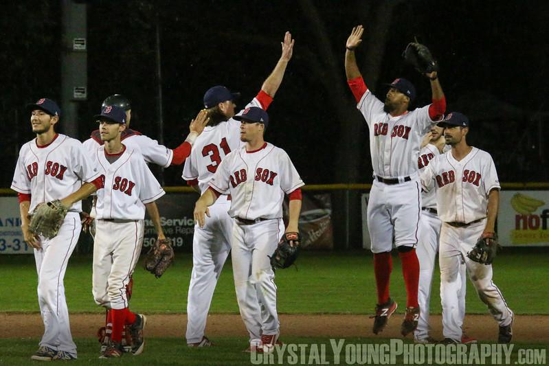 Burlington Herd at Brantford Red Sox July 7, 2017