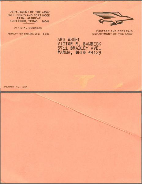 W8DFL QSL Cards 7/3/2011