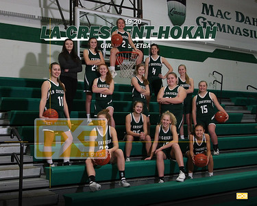 La Crescent-Hokah girls basketball GBB1920