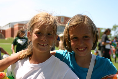 Anna & Hannah at Camp