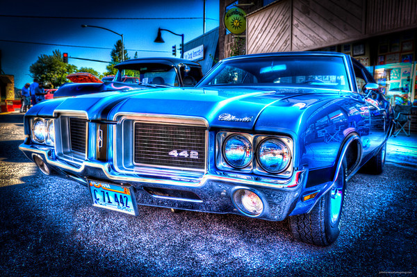 Cruisin by the bay car show - 2012