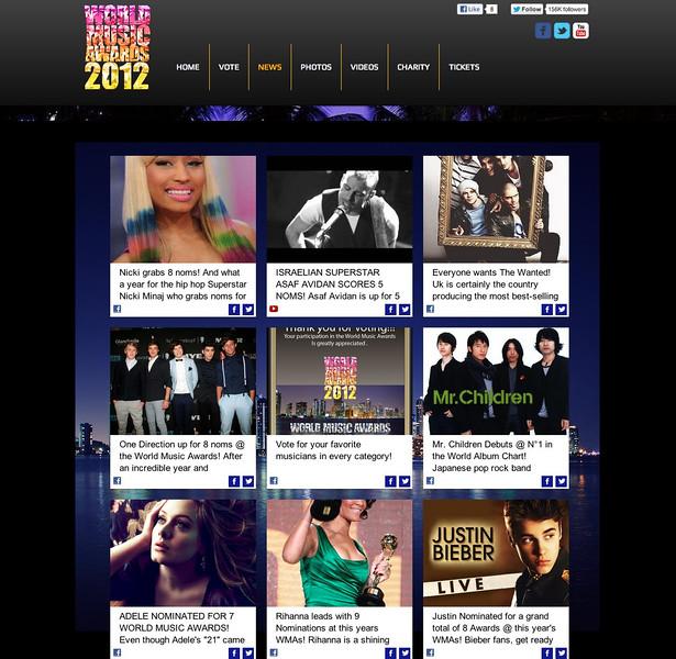 World Music Awards 2012