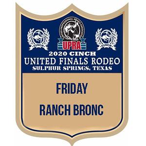 UPRA Finals Friday Ranch Bronc
