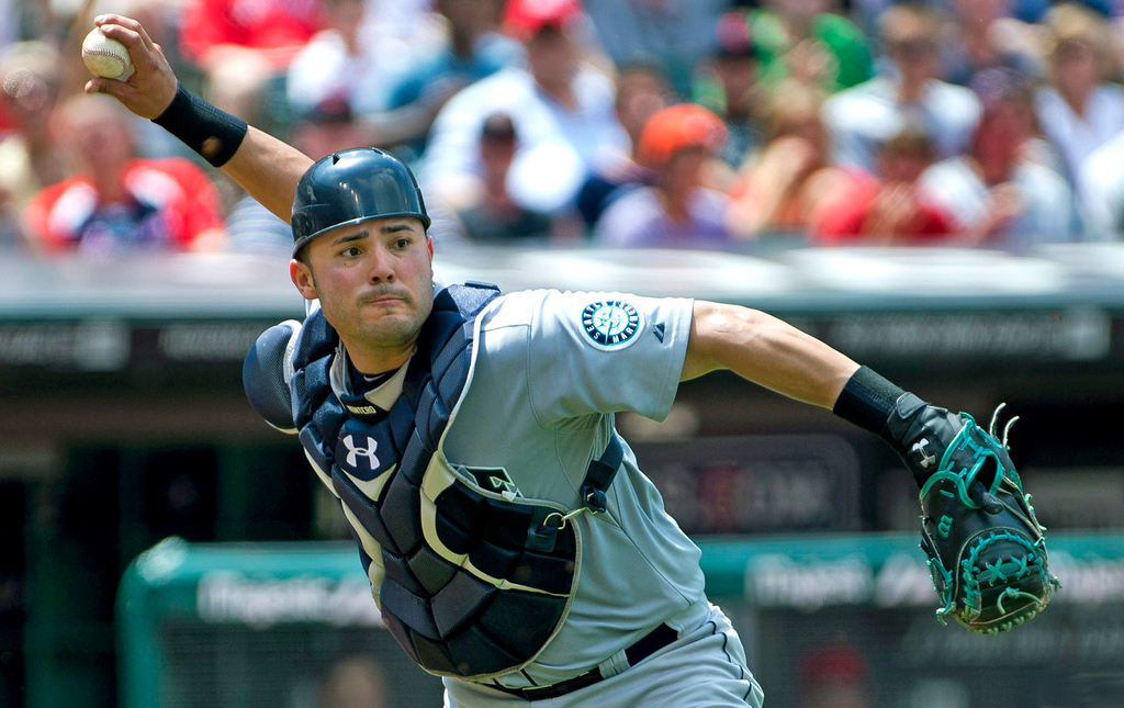 . Jesus Montero, catcher, Seattle Mariners. (Photo by Jason Miller/Getty Images)