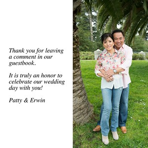 Patty & Erwin Guestbook