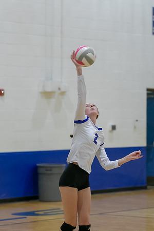 Rockdale Varsity Volleyball v Academy 2018 Second Period