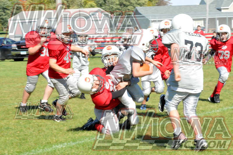 3rd&4th grade Little Rebels Football