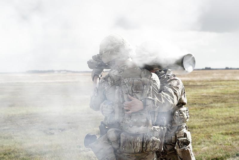 Uddannelse på Dysekanon og Maskingevær M60