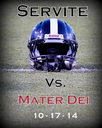 Varsity vs Mater Dei 10-17-14