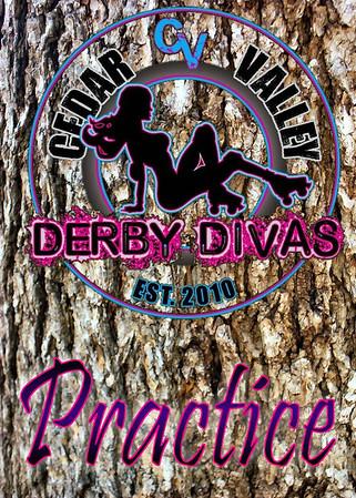 Cedar Valley Derby Divas Practice