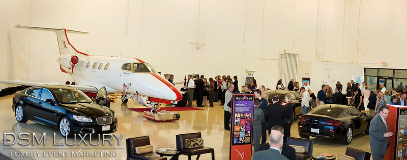 DSM Luxury's VIP Hangar Party, Las Vegas