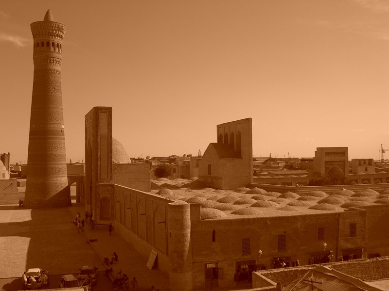 Kalon Minaret and Mosque - Bukhara, Uzbekistan