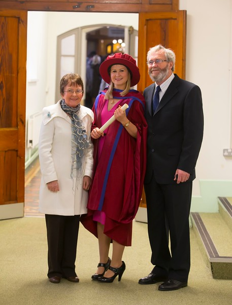 Waterford Institute Of Technology Conferring. Pictured at WIT Waterford Institute Of Technology Conferring is on right Jill O'Mahoney, Waterford, who was conferred a Doctor of Philosophy. Picture: Patrick Browne