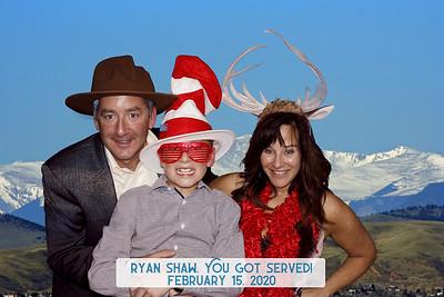 Ryan Shaw's                           Bar Mitzvah 2.15.20