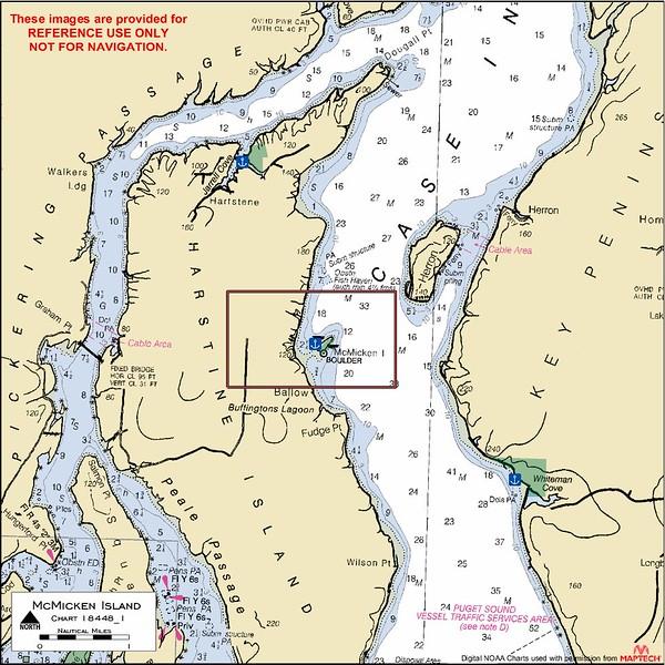 McMicken Island Marine State Park