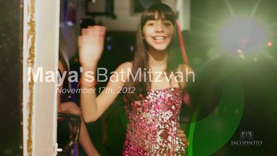 Maya's Bat Mitzvah Highlights
