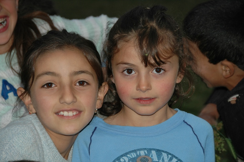 Young Girls, Happy Faces - Tatev, Armenia