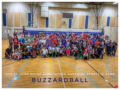 MARCH 15TH, 2019   St. John Notre Dame Father-Daughter Sports-O-Rama