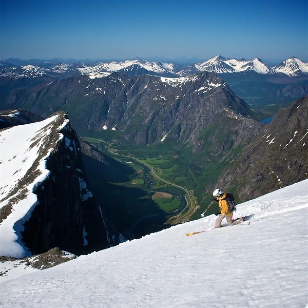 Skiing Western Norway