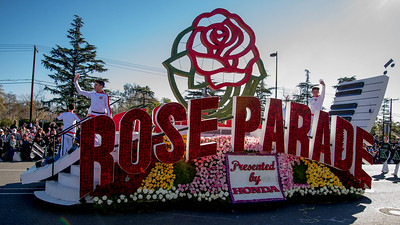 The Rose Parade (many years - take your pick)