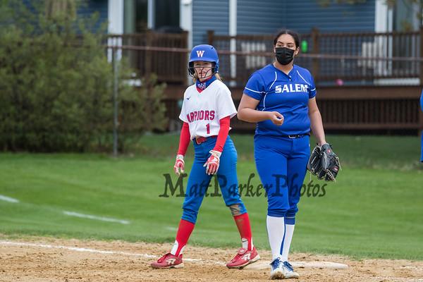 2021-5-3 WHS Girls Softball vs Salem