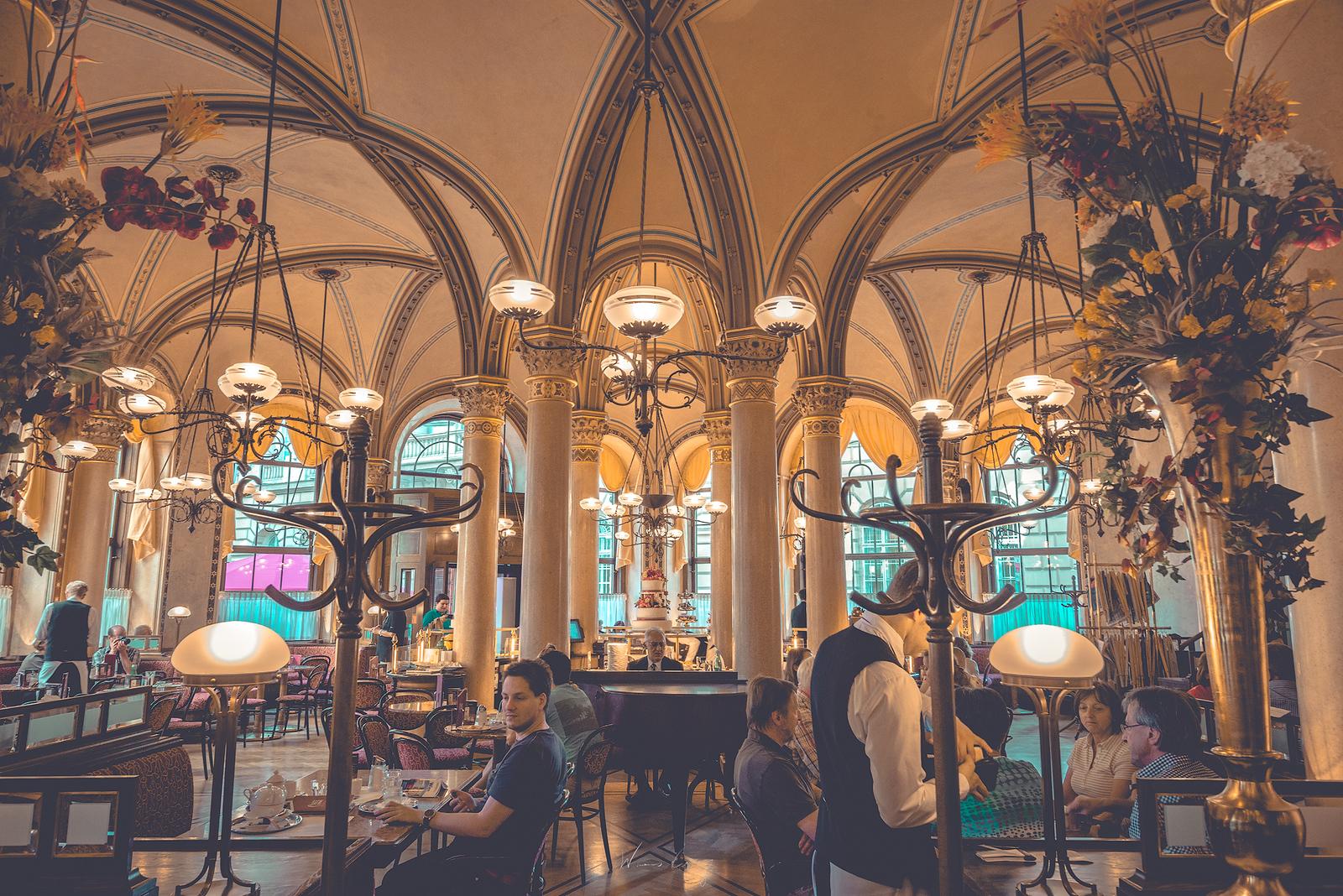 維也納與它的咖啡館們 Café Sacher Café Central by 旅行攝影師張威廉 Wilhelm Chang
