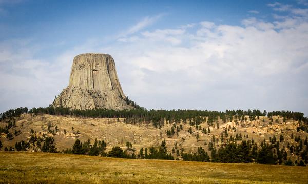 Black Hills and the Badlands
